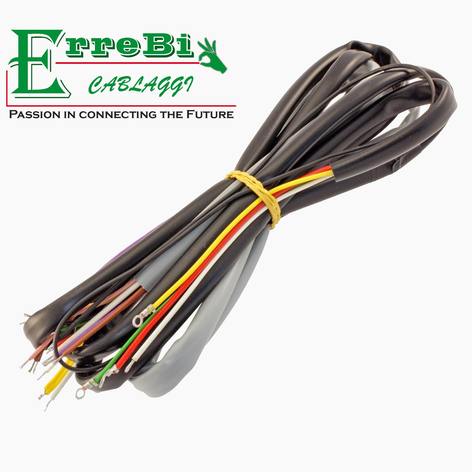 Schema Impianto Elettrico Per Vespa 50 Special : Impianto elettrico cablaggio completo per piaggio vespa